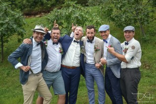 Lustige Gruppenfotos macht der Hochzeitsfotograf aus Nuernberg.