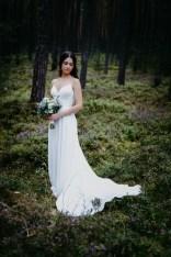 Die Braut im Boho Vintage look fotografiert vom Hochzeitsfotografen aus Nuernberg