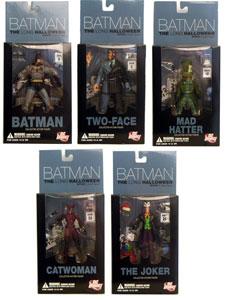 Batman: Long Halloween figure set