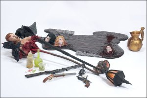 McFarlane accessories pack Faces of Madness