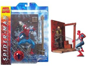 Marvel Select Spider-Man package/loose