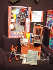 Spider-Man Alleyway Playset loose