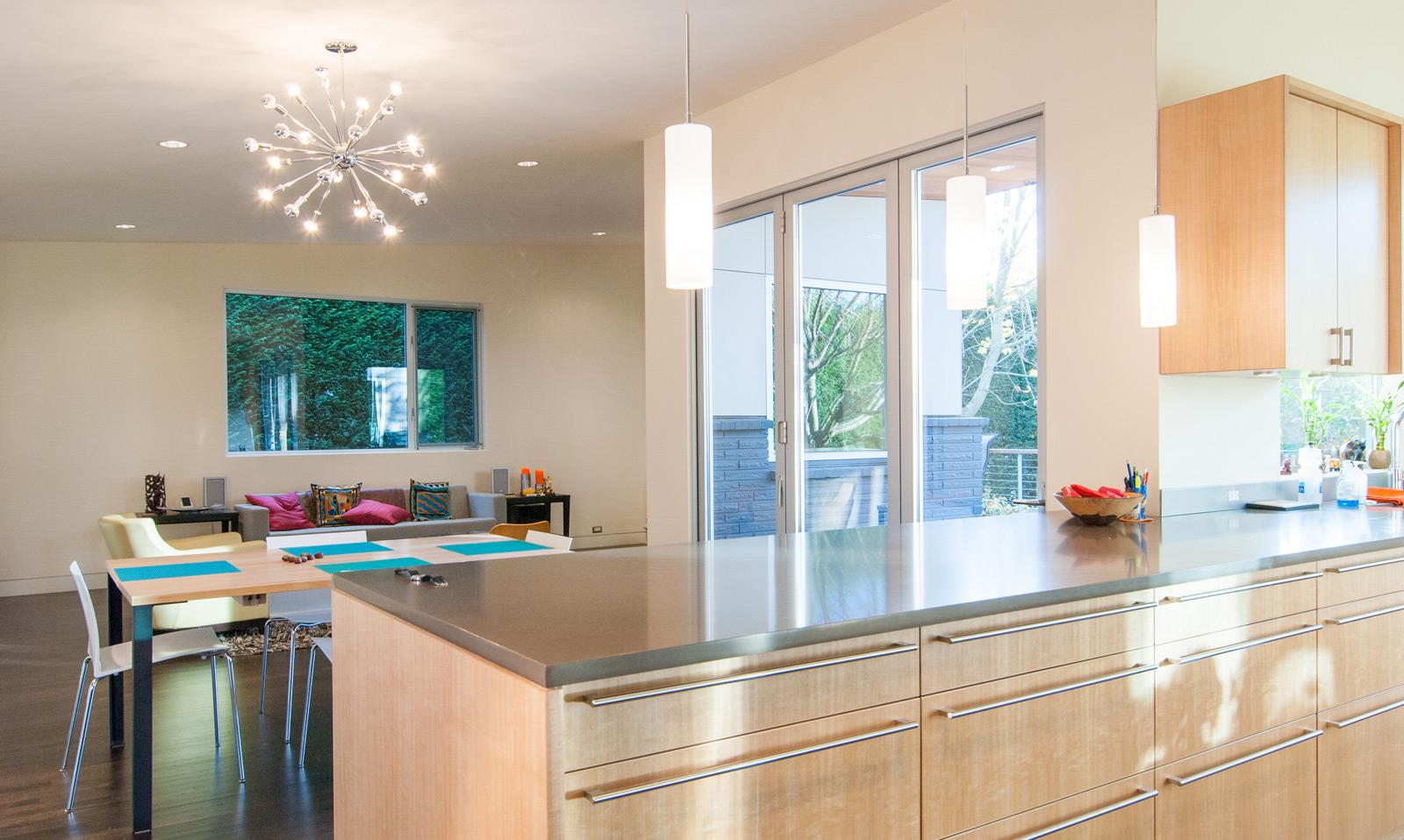 5 modern kitchen designs principles mid century kitchen chairs BUILD LLC Queen Anne Residence Kitchen 2