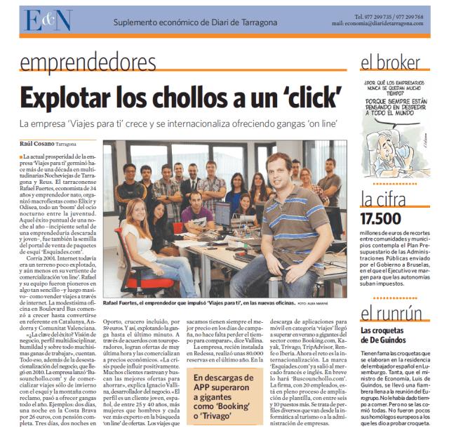 Página Diari de Tarragona 2013