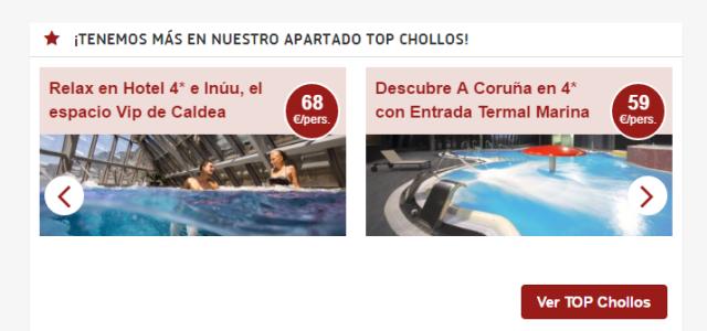 Banner Top Chollos