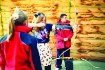 Learning to Shoot a Bow and Arrow
