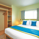 Butlins Minehead Chalets double bedroom