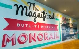 Minehead's new Diner - Minehead's Monorail