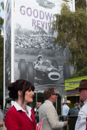 Redcoat Micheala at Goodwood Revival