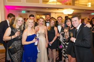 Butlin's Conference and Events team at the C&IT awards reception