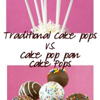 Cake Pop Pan VS. Handmade Cake Pops