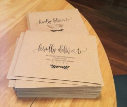 Small Of Wedding Invitation Envelopes