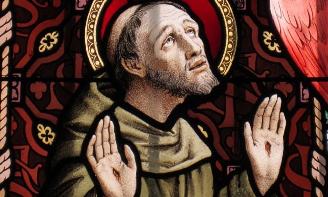 Saint François d'Assise, ami du Seigneur et de Notre Dame des Anges.
