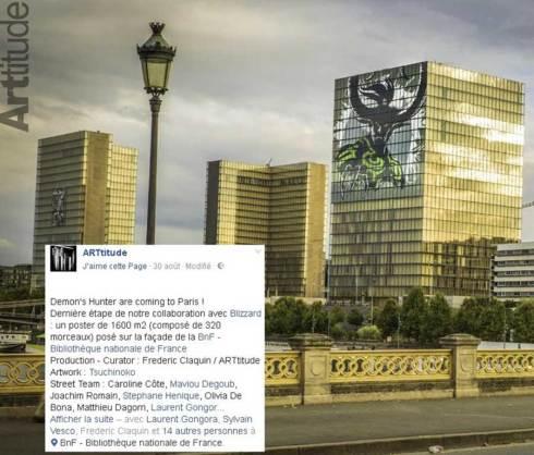 Satan s'invite à Paris...