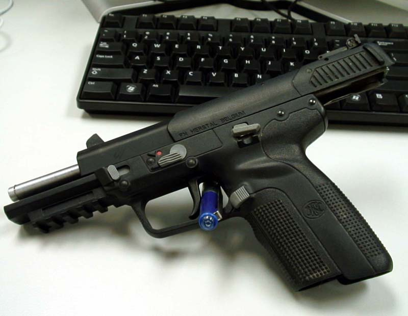 is the fn herstal five seven 5 7x28mm pistol suitable for