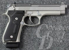 Beretta 92 with Crimson Trace laser grips