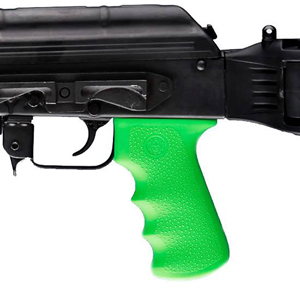 Hogue AK-47 Zombie-X OverMold Rubber Grip/Dark Zombie Green