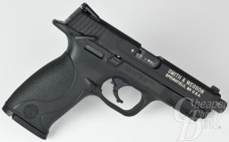 Smith & Wesson reports the trigger pull on the M&P 22 is set at 4.5 pounds.