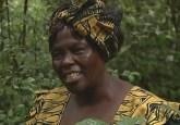 Profesora Wangari Maathai.