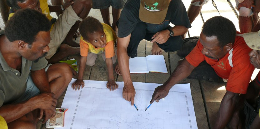 Penduduk desa Boepe, kabupaten Merauke, provinsi Papua, Indonesia. Foto: CIFOR