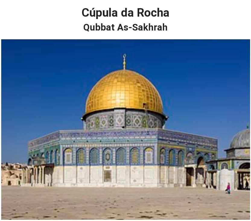 Mesquita Domo da Rocha - Jerusalém