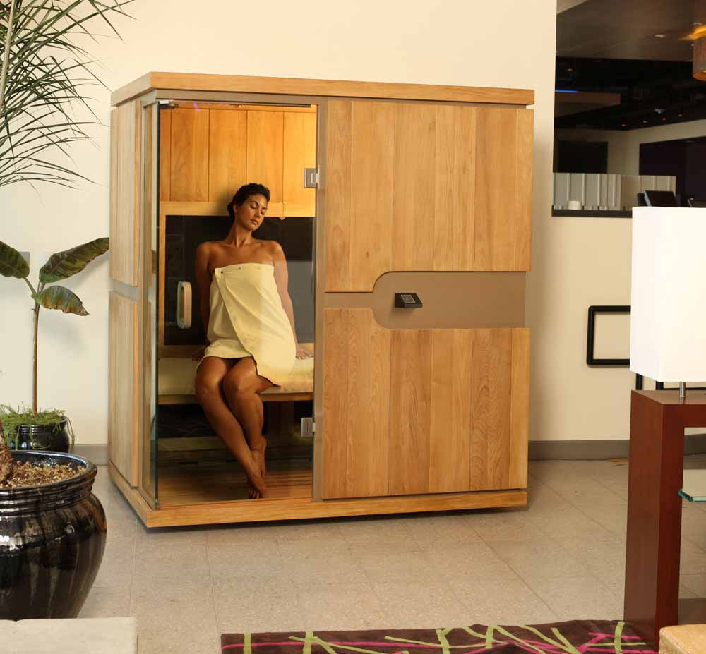 les bienfaits du sauna infrarouge apr s une s ance de sport. Black Bedroom Furniture Sets. Home Design Ideas