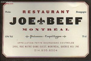 Joe Beef1 300x200 Best Meals in Montreal