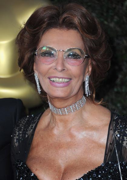 Sophia Loren: trucco pesante a 79 anni...ma lei è un'icona, può permettersi di tutto!