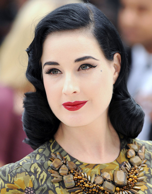 Dita+Von+Teese+Favorite+Makeup+Looks