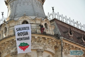 Occupy Conti for Rosia Montana – PreOccupy Cluj