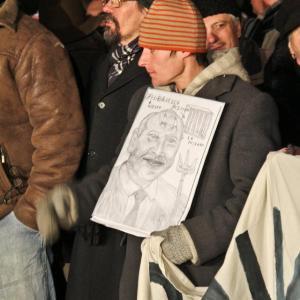 Protestatarul fără adresă