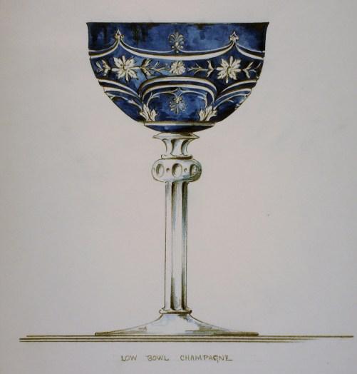 Low bowl champagne #255