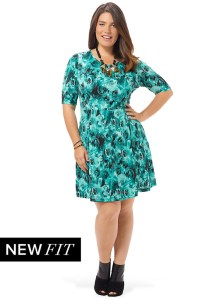 spruce-and-sage-mint-rose-fit-and-flare-dress