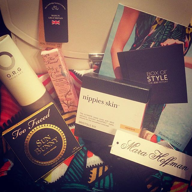 CocoFeed: The arrived @thezoereport