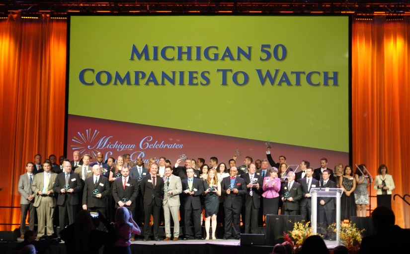 """Collage.com named to 2016 """"Michigan 50 Companies to Watch"""""""