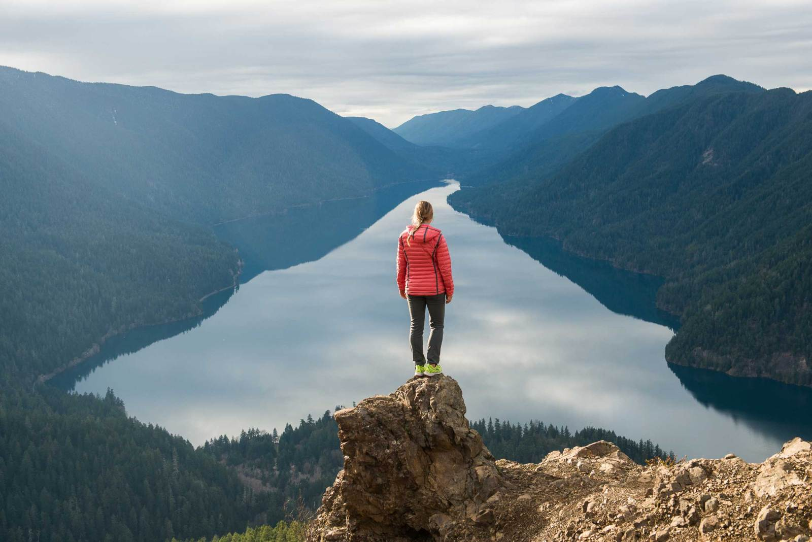 Director of Toughness Lauren Steele at Olympic National Park