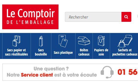 Nouveau site comptoir de l 39 emballage blog - Le comptoir de l emballage ...