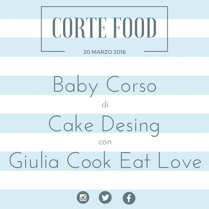 Baby Cake design al Corte Food