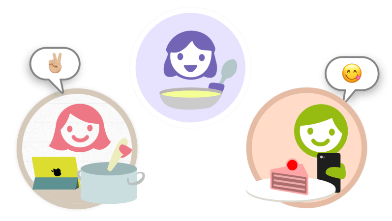 La App de Cookpad