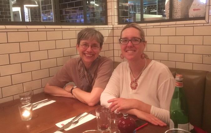 German PI Dr. Prof. Heike Behlmer and US PI Caroline T. Schroeder.