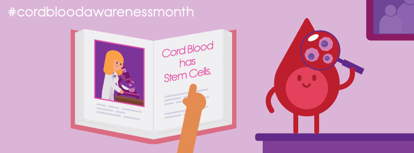 National Cord Blood Awareness Month: Celebrating the excitement and developments in cord blood banking