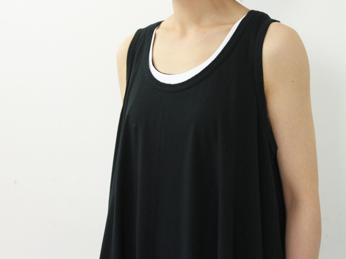 yohaku(ヨハク) tank top one-piece