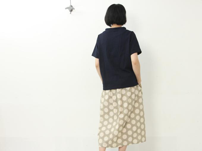 nisica(ニシカ) 半袖ガンジーネックカットソー