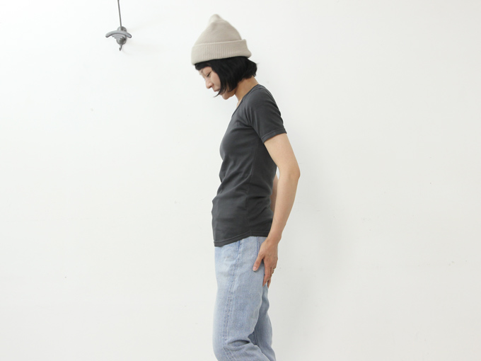 yohaku(ヨハク) 5 stitch s/s tee