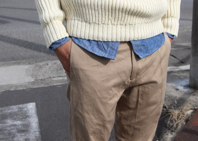 YAECA(ヤエカ) STANDARD CHINO CLOTH PANTS