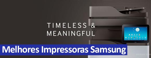 Melhores Impressoras Samsung