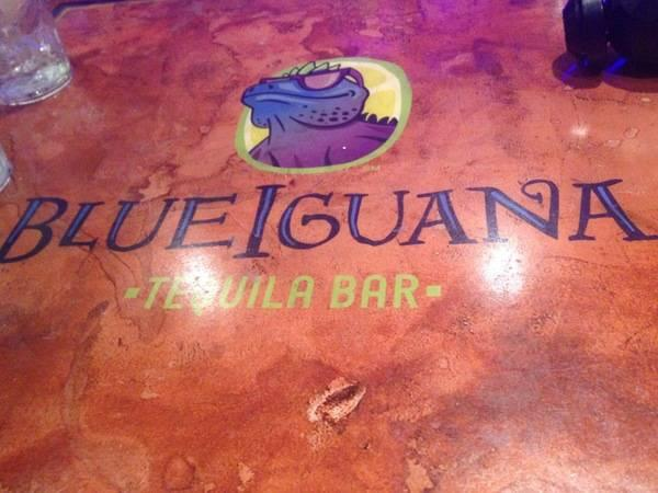 Carnival Blue Iguana Tequila Bar