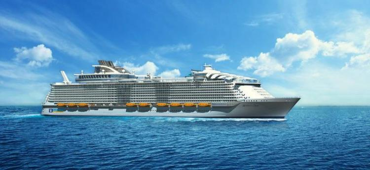 Render of Royal Caribbean Harmony of the Seas