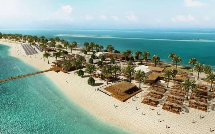 United Arab Emirates, Sir Bani Yas Island Beach Resort - Main buffet