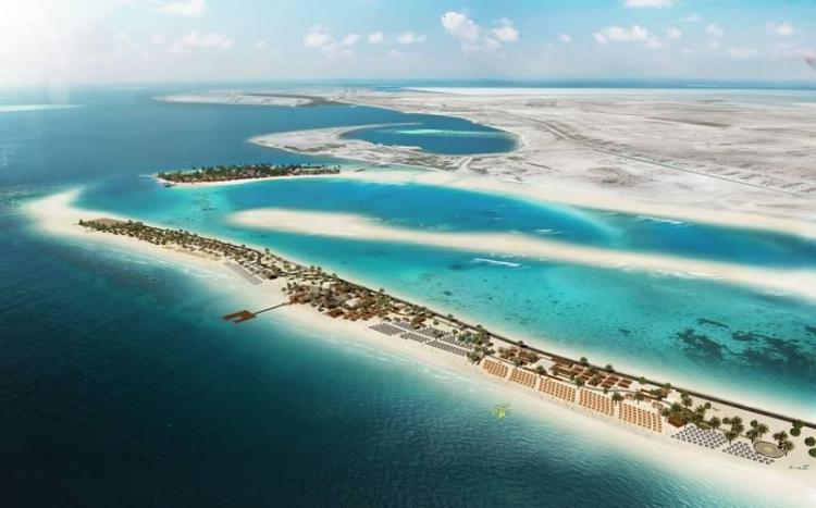 United Arab Emirates, Sir Bani Yas Island Beach Resort